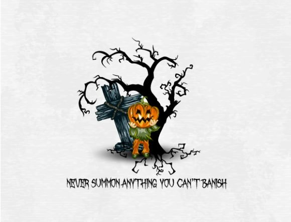 halloween background with pumpkin vector illustration 1
