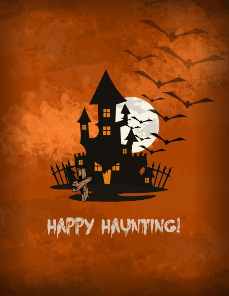 vector halloween background 1