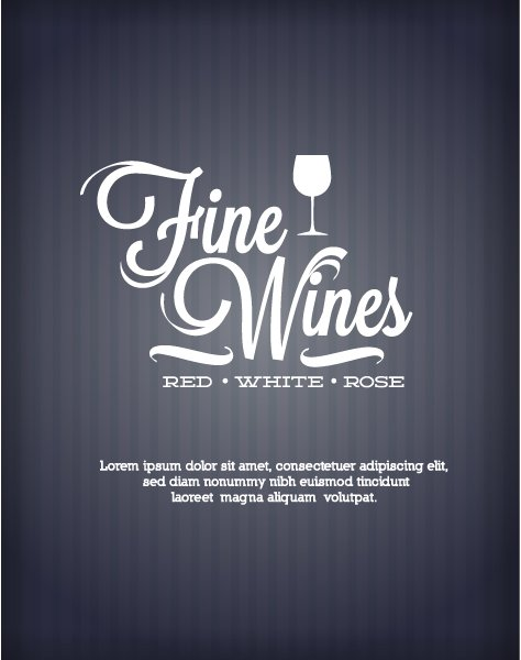 Illustration Vector Background Vector Illustration  Abstract Background  Wine 1