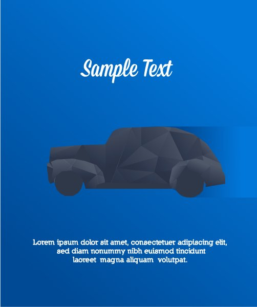 Vector Vector Vector Illustration  Abstract Background  Car 1