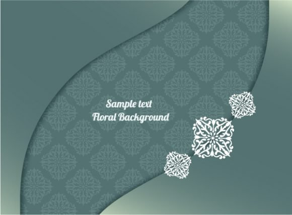 Download Wedding Vector Background: Floral Background Vector Background Illustration 1