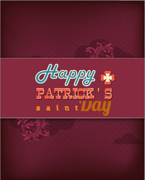 Best Clover Vector Graphic: St. Patricks Day Vector Graphic Illustration With Clover 1
