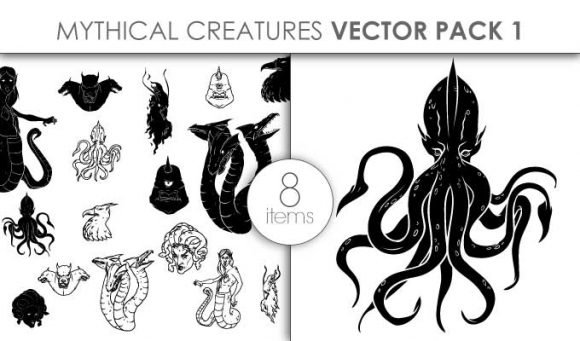 Mythical Creatures Pack 5 1