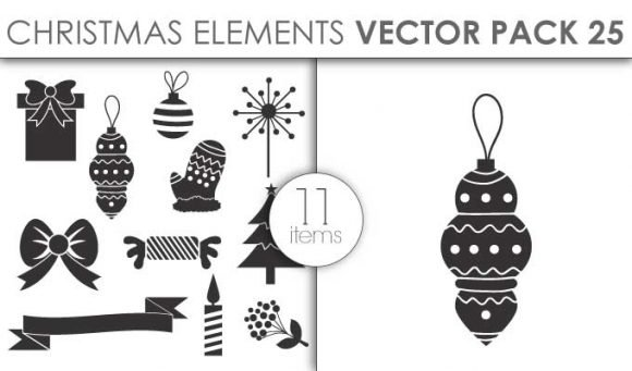 Vector Christmas Pack 25for Vinyl Cutter 1
