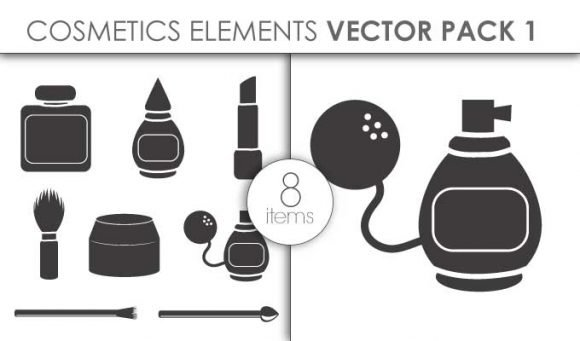 Vector Cosmetics Pack 1for Vinyl Cutter 1