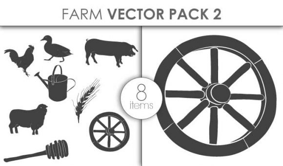 Vector Farm Pack 2for Vinyl Cutter 1