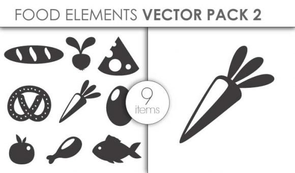 Vector Food Pack 3for Vinyl Cutter 1