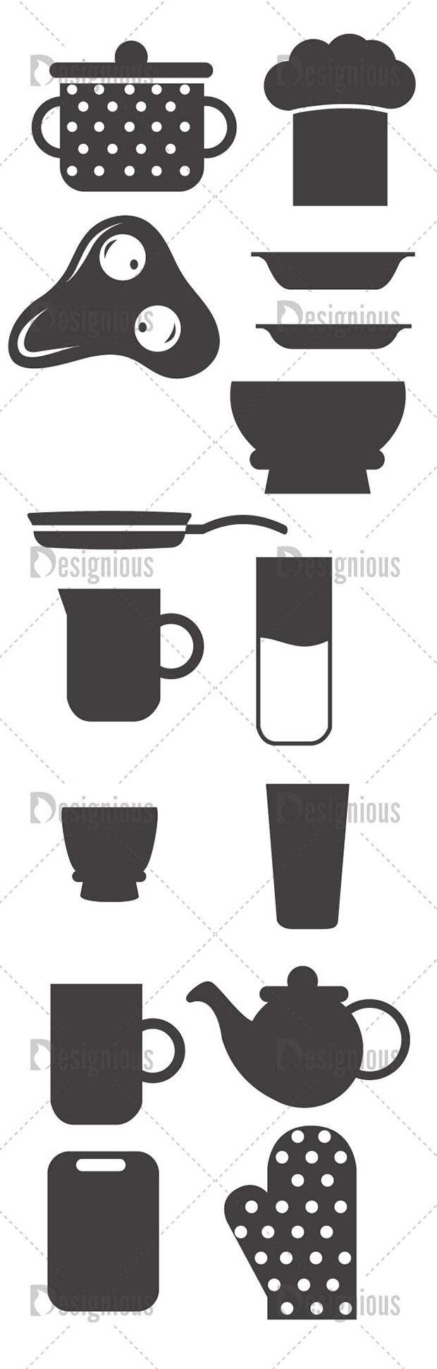 Vector Kitchenware Pack 1 2