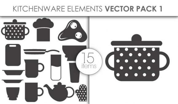 Vector Kitchenware Pack 1 1