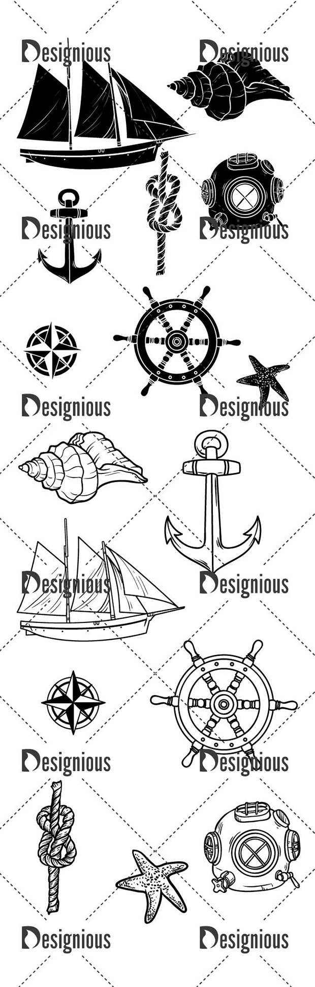 Vector Nautical Pack 2 2
