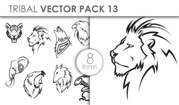 Vector Tribal Pack 13 1