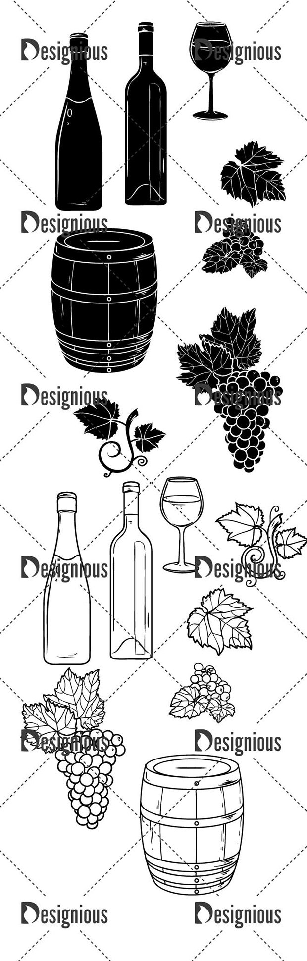 Vector Wine Pack 1 2