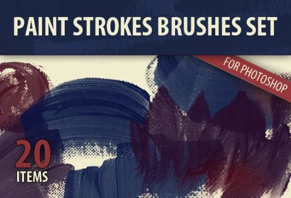 Paint-Strokes-PS-Brushes 1