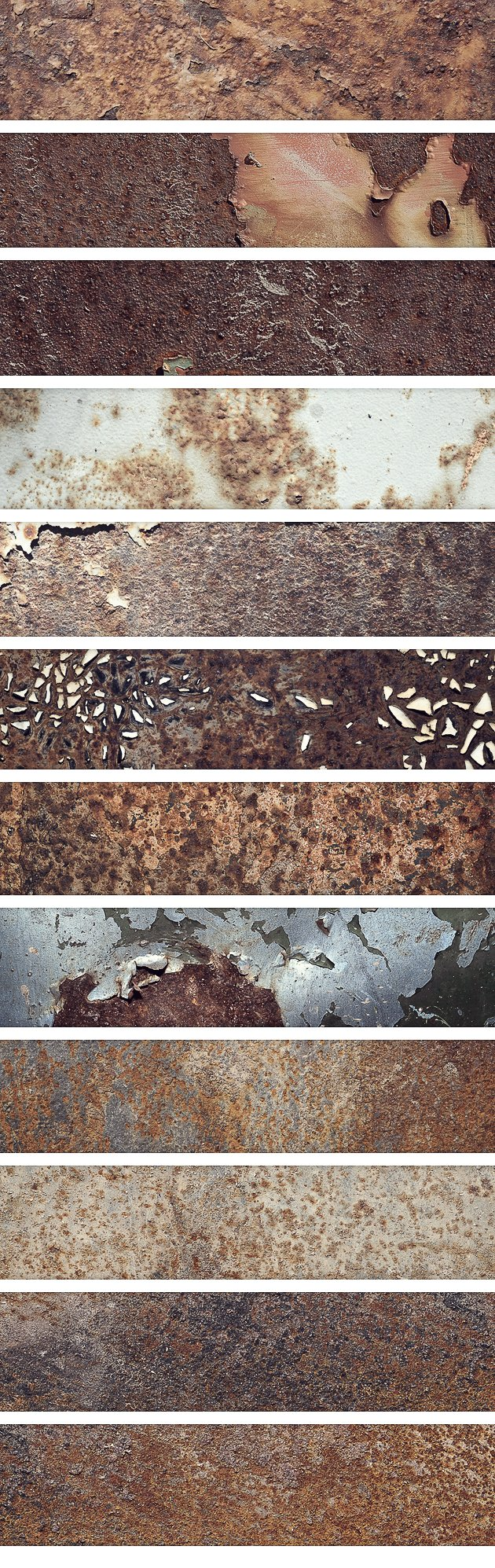 Rusted Metal Textures Set 2 2