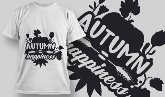 2177 Autumn Happiness 2 SVG Quote 1