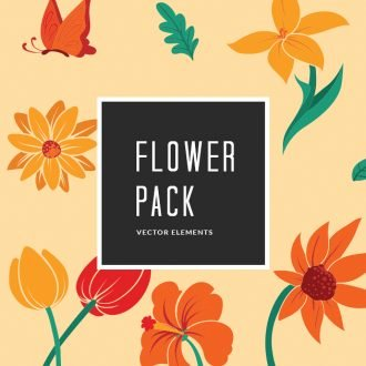 Summer Flowers | Vector Pack