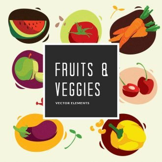 Fruits & Vegetables | Vector Pack