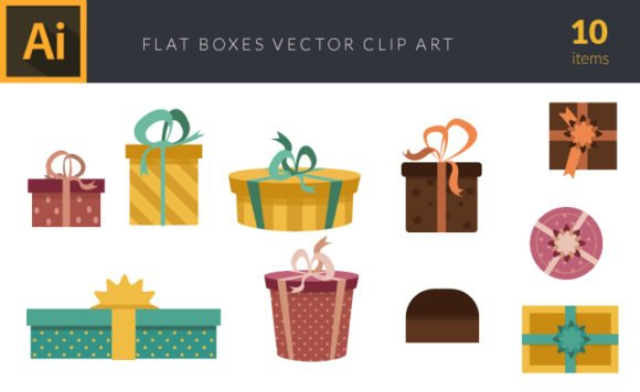 Colorful Gift Boxes | Vector Pack