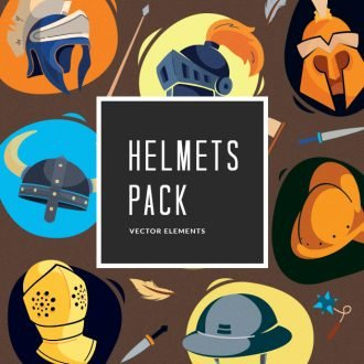 Warfare Helmets | Vector Pack