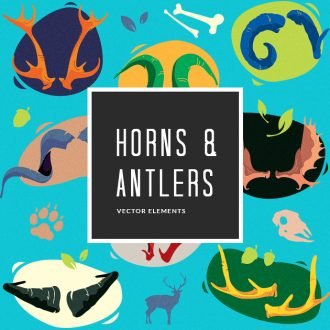 Horns and Antlers | Vector Pack