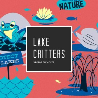 Sea & Lake Fauna Vector Pack