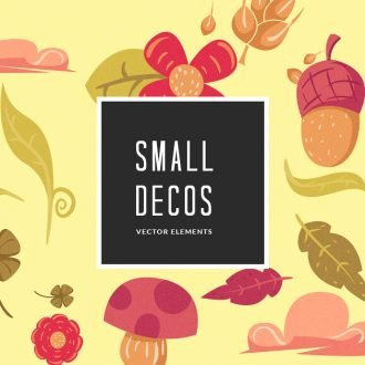Small Illustrated Decorations Vector Pack