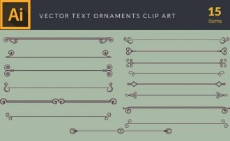 Text Decorations Vector Pack