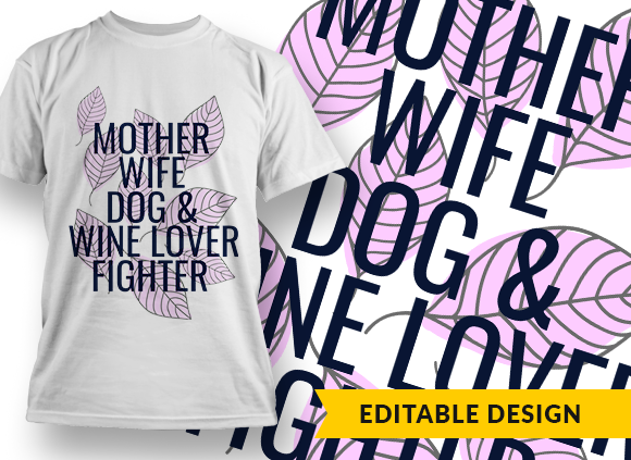 Mother, wife, dog& wine lover, fighter 1