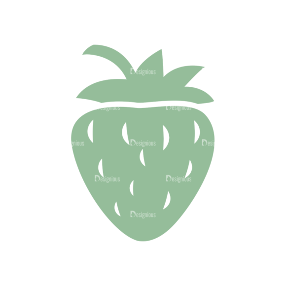 Ice Cream Logos Vector Strawberry 1