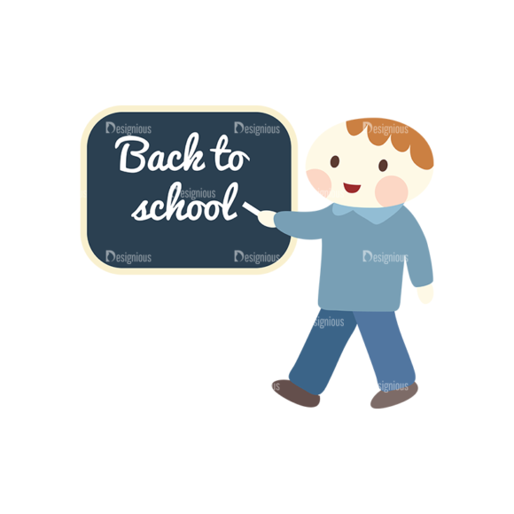 Back To School Childs Set 1 Vector Child 03 1