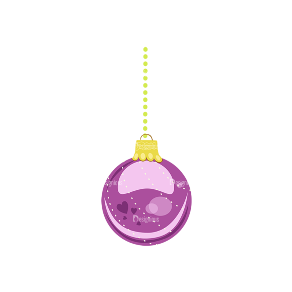 Christmas Tree Ornaments Vector Christmas Ball 17 1
