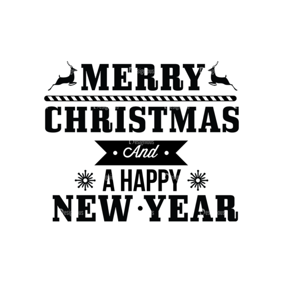 Christmas Typography 1 Vector Expanded Text 04 1