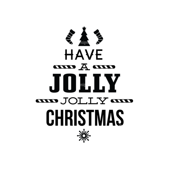 Christmas Typography 1 Vector Expanded Text 05 1