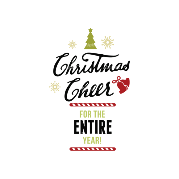 Christmas Typography 2 Vector Expanded Text 08 1