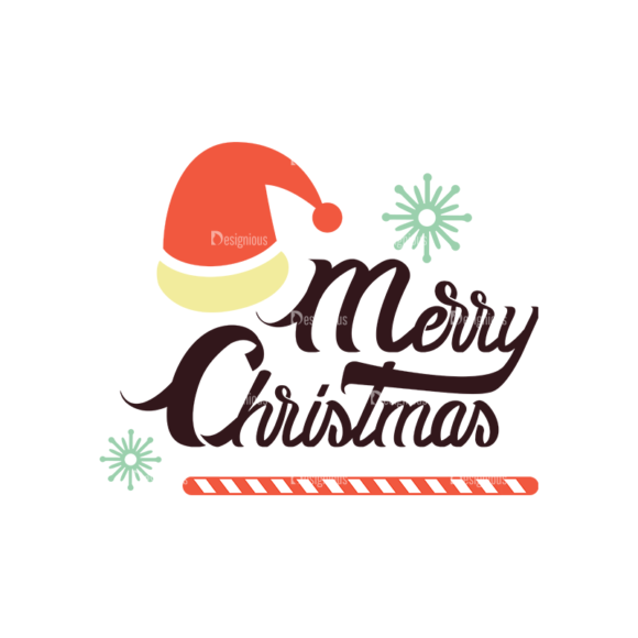 Christmas Typography 3 Vector Text 07 1
