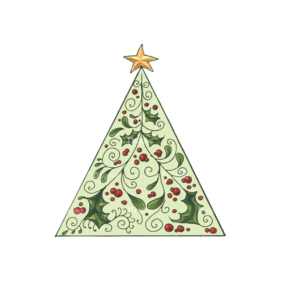 Christmas Vector 22 6 Preview 1