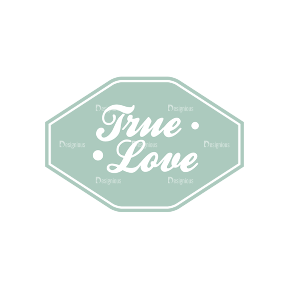 Decorative Valentines Day Vector Set 5 Vector True Love 1