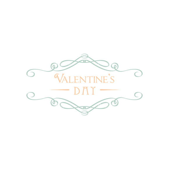 Decorative Valentines Day Vector Set 5 Vector Valentines Day 1