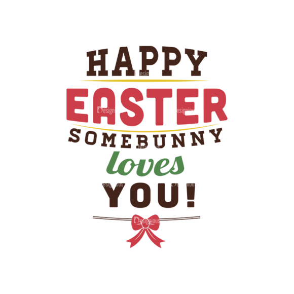Easter Typographic Elements Vector Text 05 1