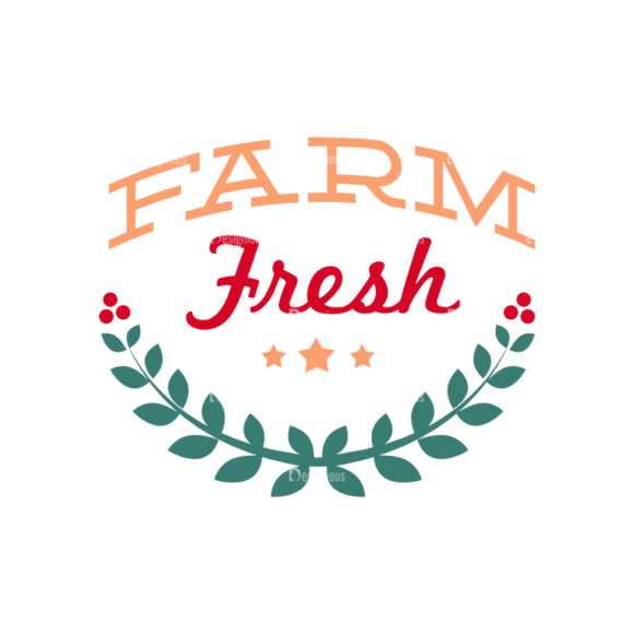 Farm Labels Vector Set 5 Vector Text 06 1