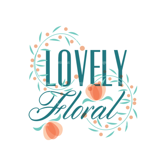 Floral Type Badges Vector Badges 01 1