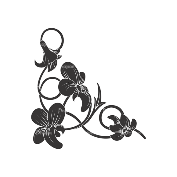 Floral Vector 60 9 1