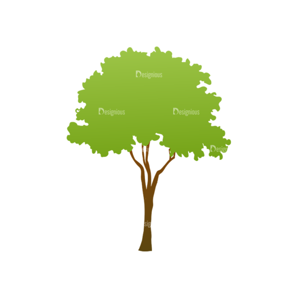 Green Trees Vector Tree 19 1