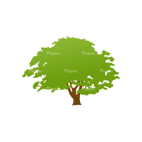 Green Trees Vector Tree 24 1