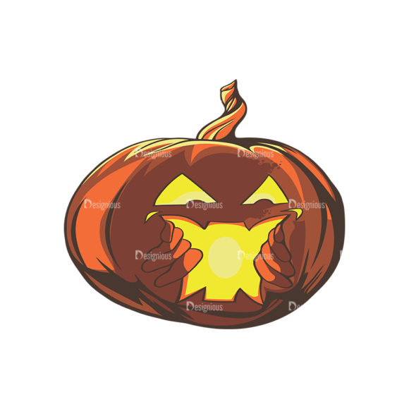 Halloween Vector 6 Preview 1