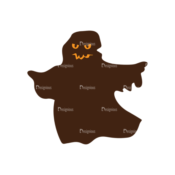 Halloween Vector Elements Set 2 Vector Ghost 1