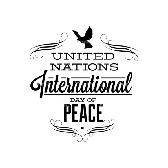 International Day Of Peace Typography 1 Vector Expanded Text 05 1