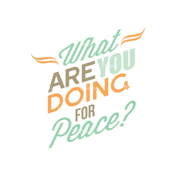 International Day Of Peace Typography 1 Vector Expanded Text 08 1