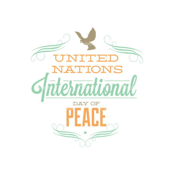 International Day Of Peace Typography 1 Vector Expanded Text 10 1
