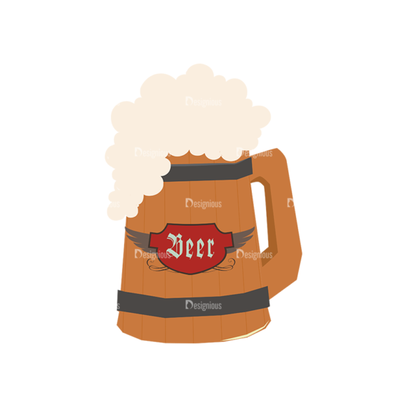 Oktoberfest Set 2 Vector Beer 18 1